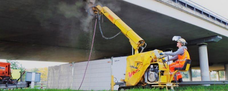 Hydro demolition reinforcement inspection