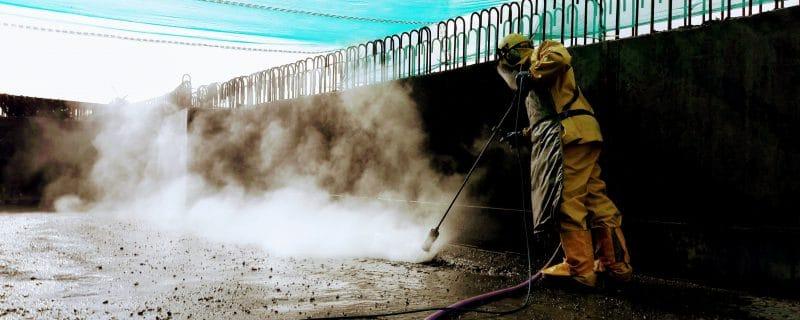 Hydrodemolition voor nieuwe betonstort