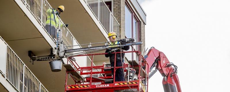 Herstel galerijvloeren en balkons door VVUV systeem