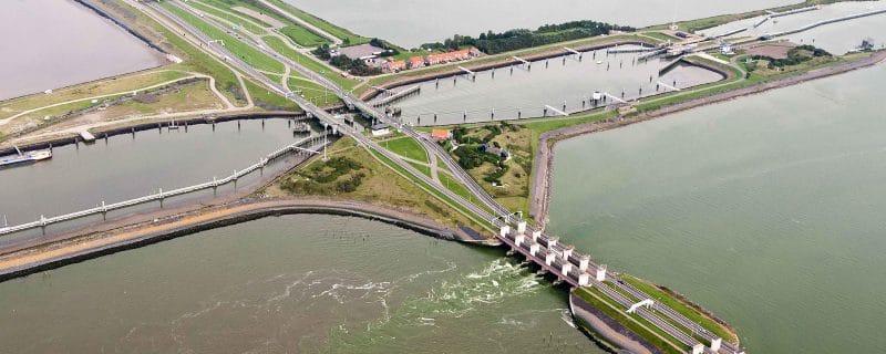 Herstel beton Afsluitdijk
