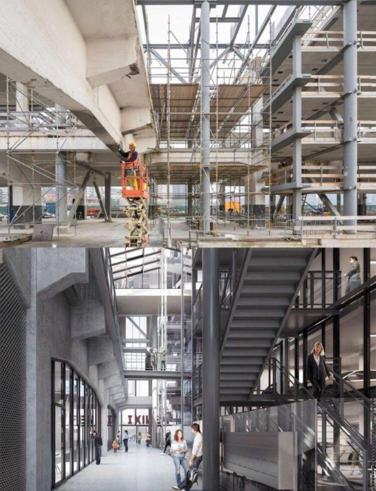 Betonherstel Fenixloods Rotterdam