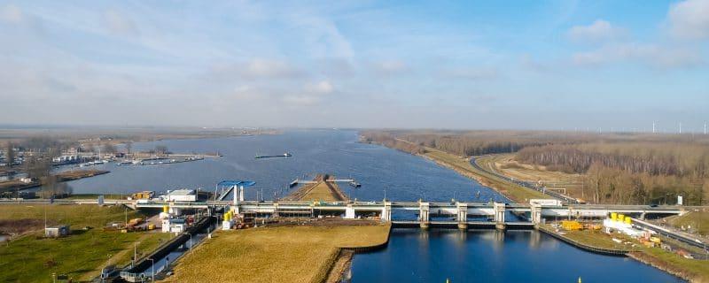 Nijkerkerbrug dronefoto