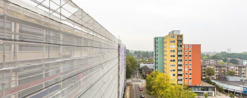 Betonrenovatie Berkenflat Groningen