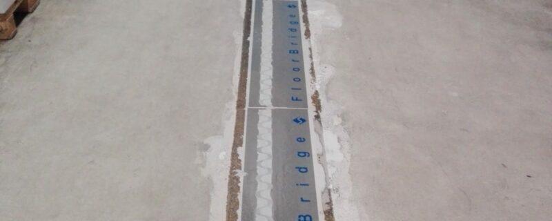 Floorbridge voegovergang