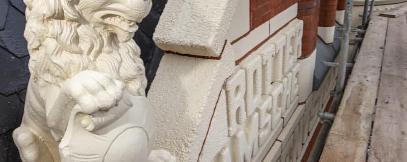 Betonrestauratie monument